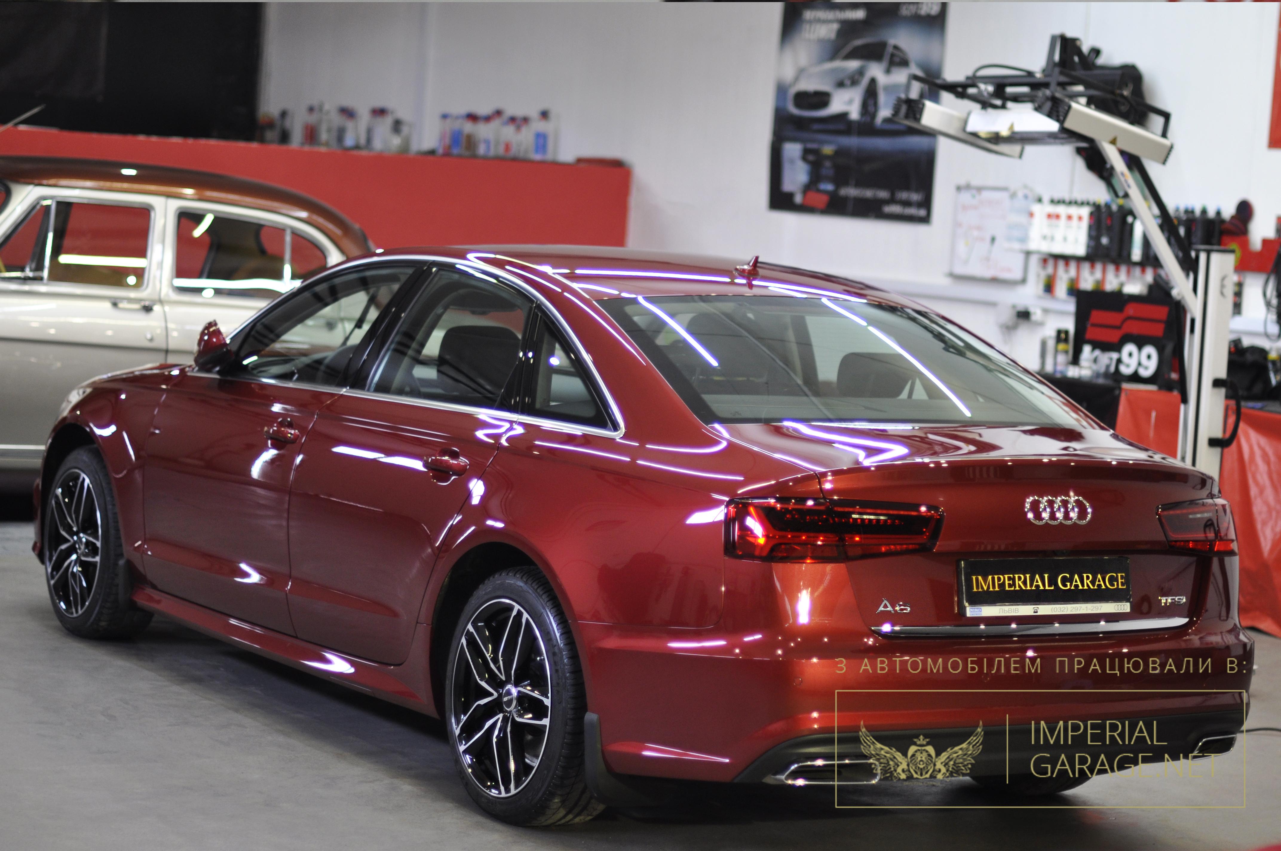Захист рідким склом Audi A6
