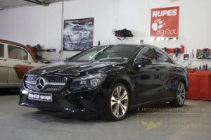 Детейлинг Mercedes CLA