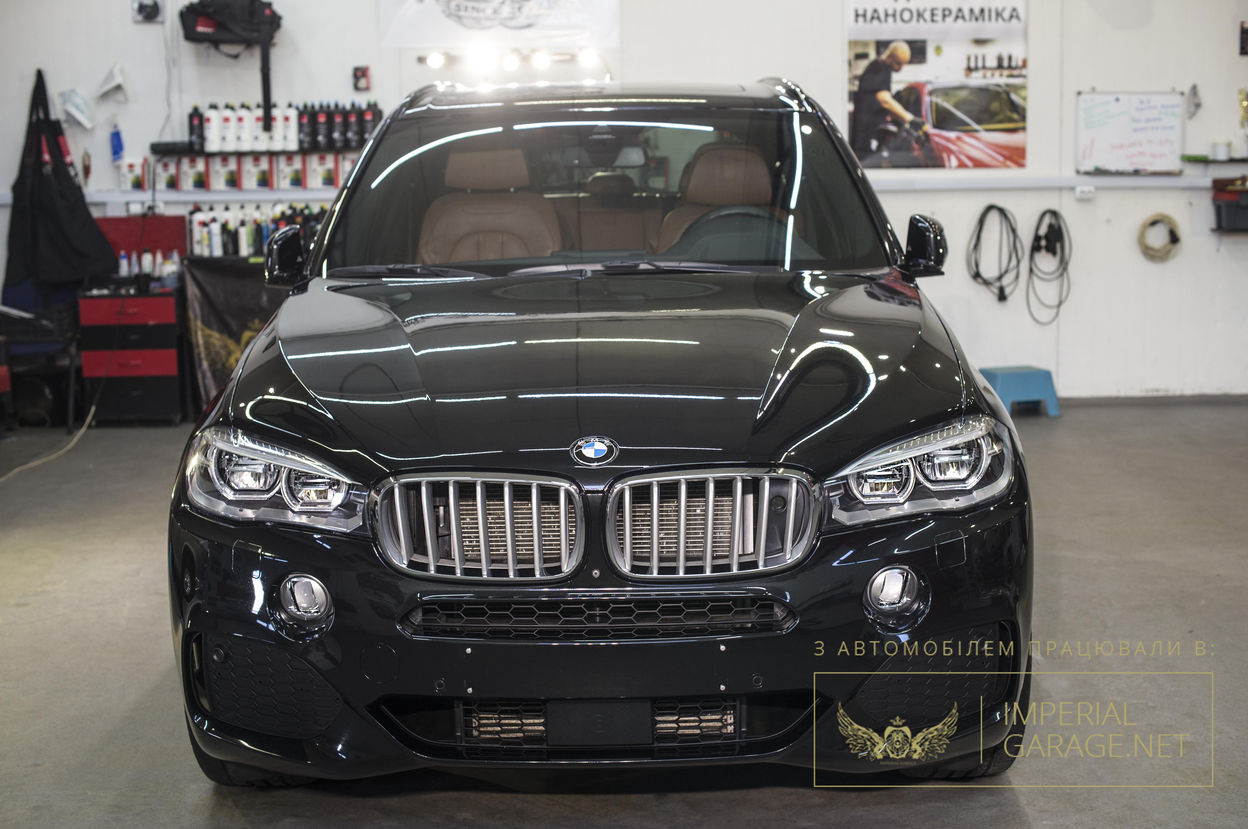 BMW X5 покритий нанокерамікою