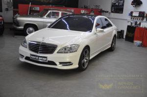 Захист Mercedes керамікою
