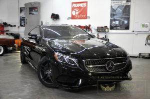 Детейлінг Mercedes S coupe Львів